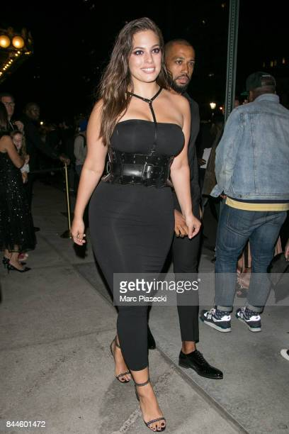 Model Ashley Graham is seen in New York City