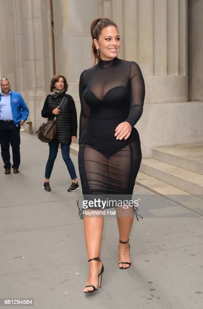 Model Ashley Graham is seen walking in Soho on May 9 2017 in New York City