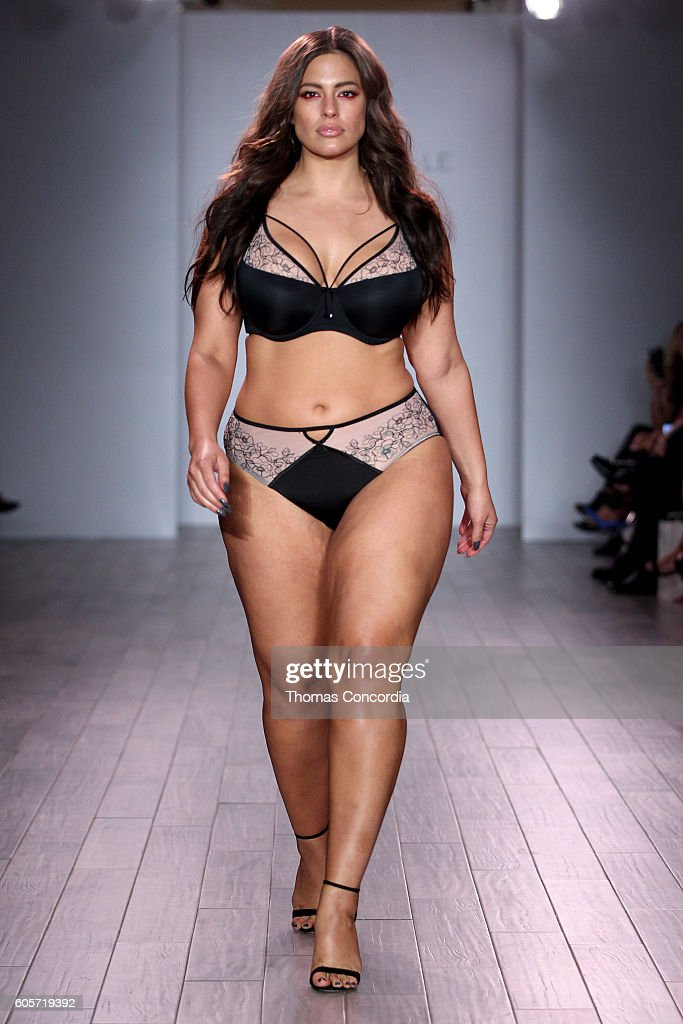Addition Elle Presents Holiday 2016 RTW + Ashley Graham Lingerie Collection at Kia STYLE360 NYFW