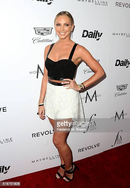 Model Ashley Michaelsen attends the Daily Front Row 'Fashion Los Angeles Awards' at Sunset Tower Hotel on March 20 2016 in West Hollywood California