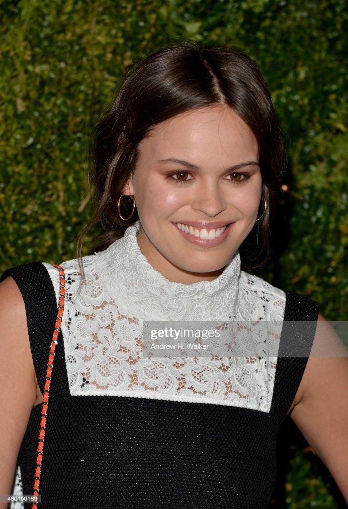 Model Atlanta De Cadenet Taylor attends the Chanel Tribeca Film Festival Artist Dinner during the 2014 Tribeca Film Festival at Balthazar on April 22, 2014 in New York City.