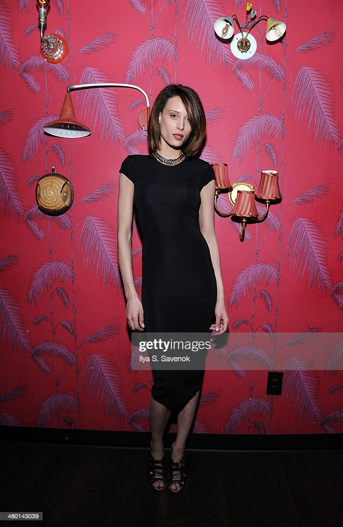 A model attends 2nd Supermodel Saturday at No.8 on March 22, 2014 in New York City.