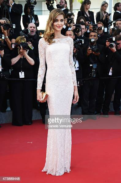 Model attends the 'Inside Out' Premiere during the 68th annual Cannes Film Festival on May 18 2015 in Cannes France