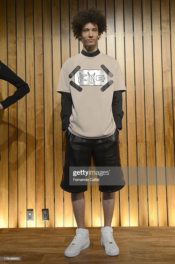 A Model attends the Kye presentation during Mercedes-Benz Fashion Week Spring 2014 at The Standard Hotel - High Line Room on September 4, 2013 in New York City.