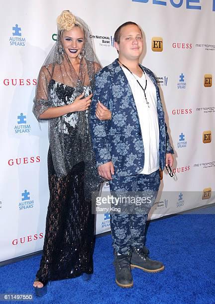 Model Ava Capra and her brother Asa Capra attend Metropolitan Fashion Week 2016 La Vie En Bleu Signature event benefiting Autism Speaks at Warner...