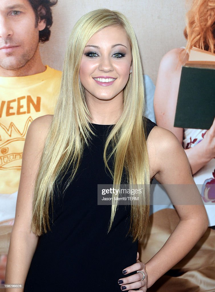 Model Ava Sambora attends the premiere Of Universal Pictures' 'This Is 40' at Grauman's Chinese Theatre on December 12, 2012 in Hollywood, California.