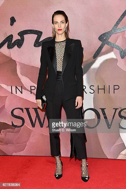 Model Aymeline Valade attends The Fashion Awards 2016 on December 5 2016 in London United Kingdom