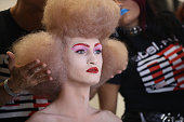 Pam Hogg - Backstage - LFW September 2019