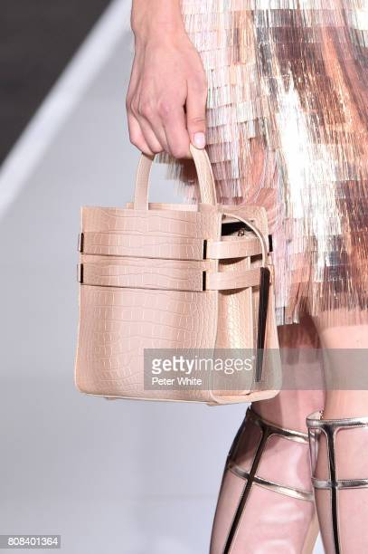 A model bag detail walks the runway during the Ralph Russo Haute Couture Fall/Winter 20172018 show as part of Haute Couture Paris Fashion Week on...