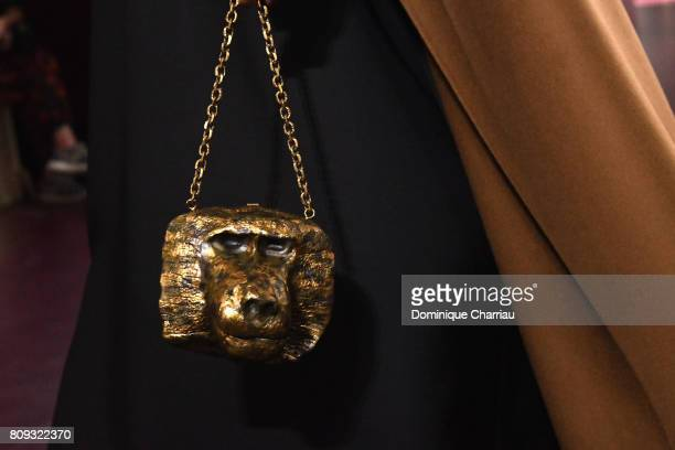 A model bag detail walks the runway during the Valentino Haute Couture Fall/Winter 20172018 show as part of Haute Couture Paris Fashion Week on July...