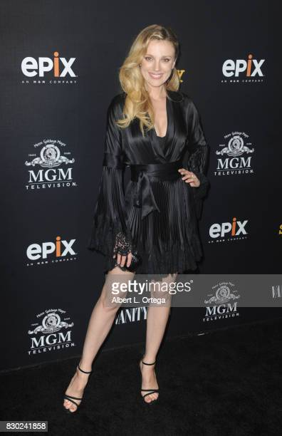 Model Bar Paly arrives for the Red Carpet Premiere of EPIX Original Series 'Get Shorty' held at Pacfic Design Center on August 10 2017 in West...