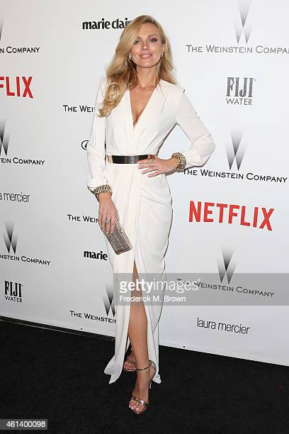 Model Bar Paly attends the 2015 Weinstein Company and Netflix Golden Globes After Party at Robinsons May Lot on January 11 2015 in Beverly Hills...