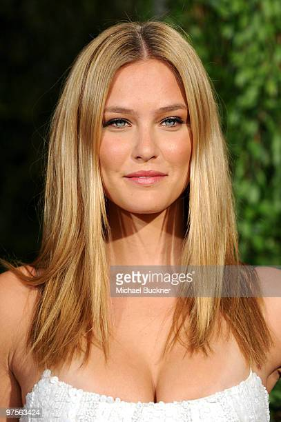 Model Bar Refaeli arrives at the 2010 Vanity Fair Oscar Party hosted by Graydon Carter held at Sunset Tower on March 7 2010 in West Hollywood...