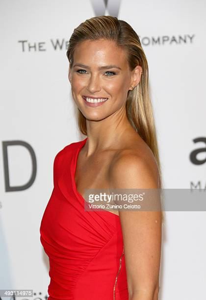 Model Bar Refaeli attends amfAR's 21st Cinema Against AIDS Gala Presented By WORLDVIEW BOLD FILMS And BVLGARI at Hotel du CapEdenRoc on May 22 2014...