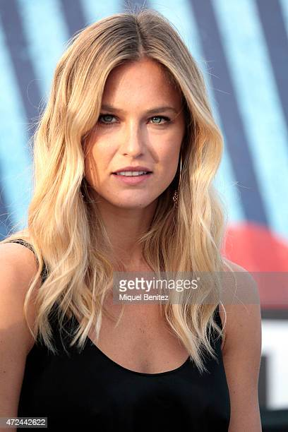 Model Bar Refaeli attends at Terrazza MARTINI as she is announced as the global MARTINI race ambassador on May 7 2015 in Barcelona Spain The VIP...