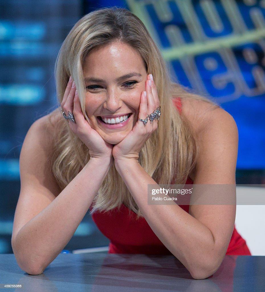 Bar Refaeli Attends 'El Hormiguero' Tv Show