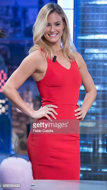 Model Bar Refaeli attends 'El Hormiguero' TV Show at Vertice Studio on November 19 2014 in Madrid Spain
