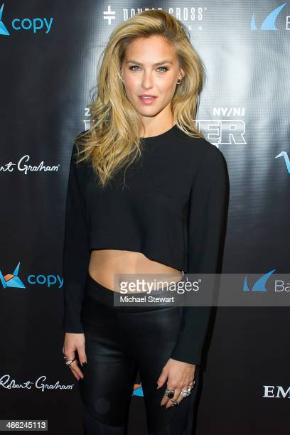 Model Bar Refaeli attends the 11th Annual 'Leather Laces' Party at The Liberty Theatre on January 31 2014 in New York City