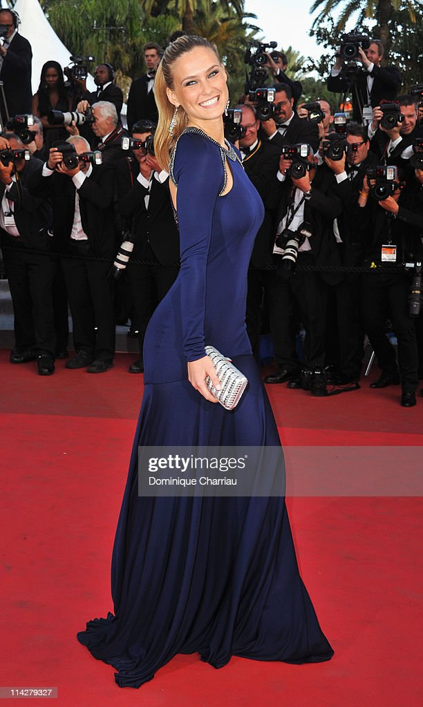 Model Bar Refaeli attends 'The Beaver' Premiere during the 64th Cannes Film Festival at the Palais des Festivals on May 17 2011 in Cannes France
