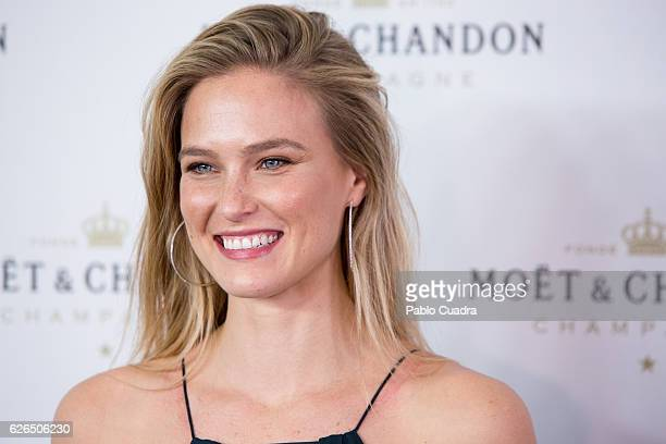 Model Bar Refaeli attends the 'Moet Chandon' New Year's Eve party at Florida Retiro on November 29 2016 in Madrid Spain