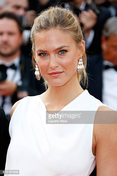Model Bar Refaeli attends the opening ceremony and 'La Tete Haute' premiere during the 68th annual Cannes Film Festival on May 13 2015 in Cannes...