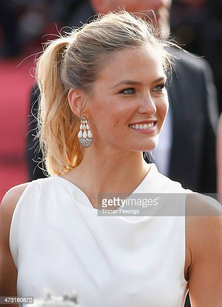 Model Bar Refaeli attends the opening ceremony and premiere of 'La Tete Haute' during the 68th annual Cannes Film Festival on May 13 2015 in Cannes...