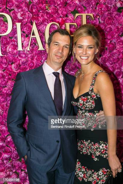 Model Bar Refaeli attends the Piaget Rose Day Private Event in Orangerie Ephemere at Jardin des Tuileries on June 13 2013 in Paris France