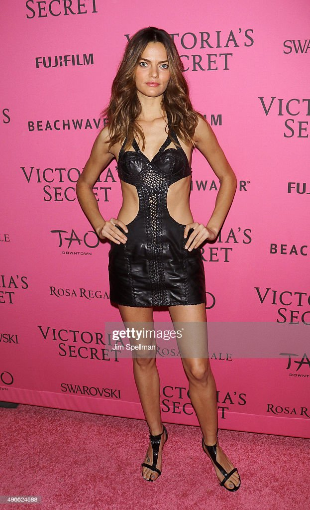 Model Barbara Fialho attends the 2015 Victoria's Secret Fashion Show after party at TAO Downtown on November 10, 2015 in New York City.