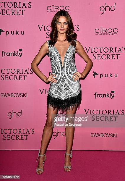 Model Barbara Fialho attends the after party for the annual Victoria's Secret fashion show at Earls Court on December 2 2014 in London England