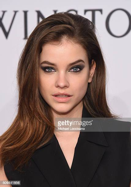 Model Barbara Palvin attends 2016 amfAR New York Gala at Cipriani Wall Street on February 10 2016 in New York City