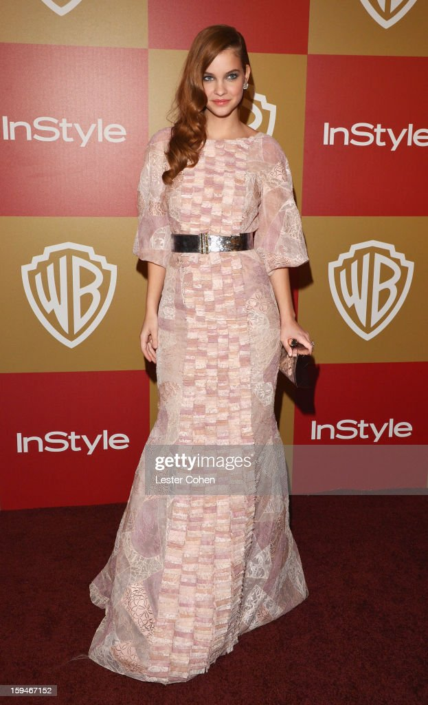 Model Barbara Palvin attends the 2013 InStyle and Warner Bros. 70th Annual Golden Globe Awards Post-Party held at the Oasis Courtyard in The Beverly Hilton Hotel on January 13, 2013 in Beverly Hills, California.
