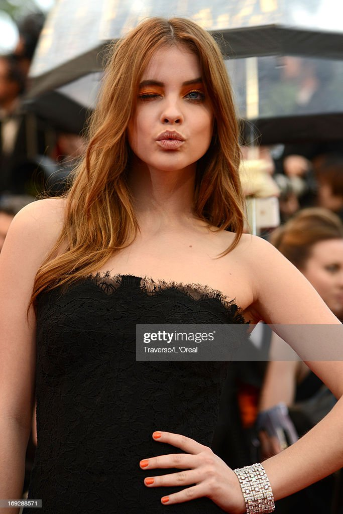 Model Barbara Palvin attends the 'All Is Lost' Premiere during the 66th Annual Cannes Film Festival on May 22, 2013 in Cannes, France.