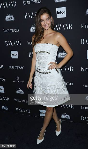 Model Barbara Palvin attends the Harper's BAZAAR celebrates 'ICONS By Carine Roitfeld' at The Plaza Hotel on September 9 2016 in New York City