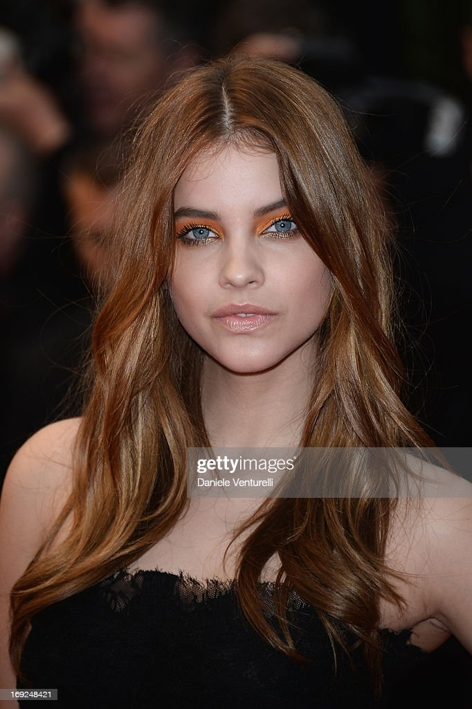 Model Barbara Palvin attends the Premiere of 'All Is Lost' during The 66th Annual Cannes Film Festival at the Palais des Festivals on May 22 2013 in...