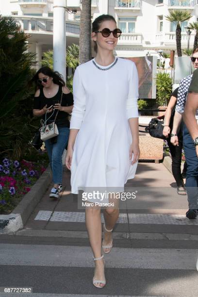 Model Barbara Palvin is spotted during the 70th annual Cannes Film Festival at on May 24 2017 in Cannes France