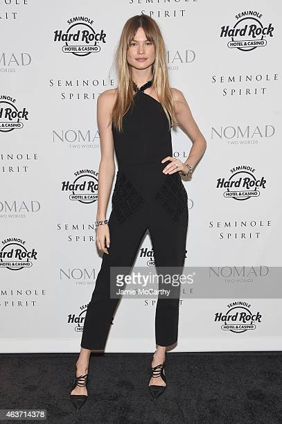 Model Behati Prinsloo attends Seminole Spirit Presented By Nomad Two Worlds on February 17 2015 in New York City Photo by Jamie McCarthy/Getty Images...
