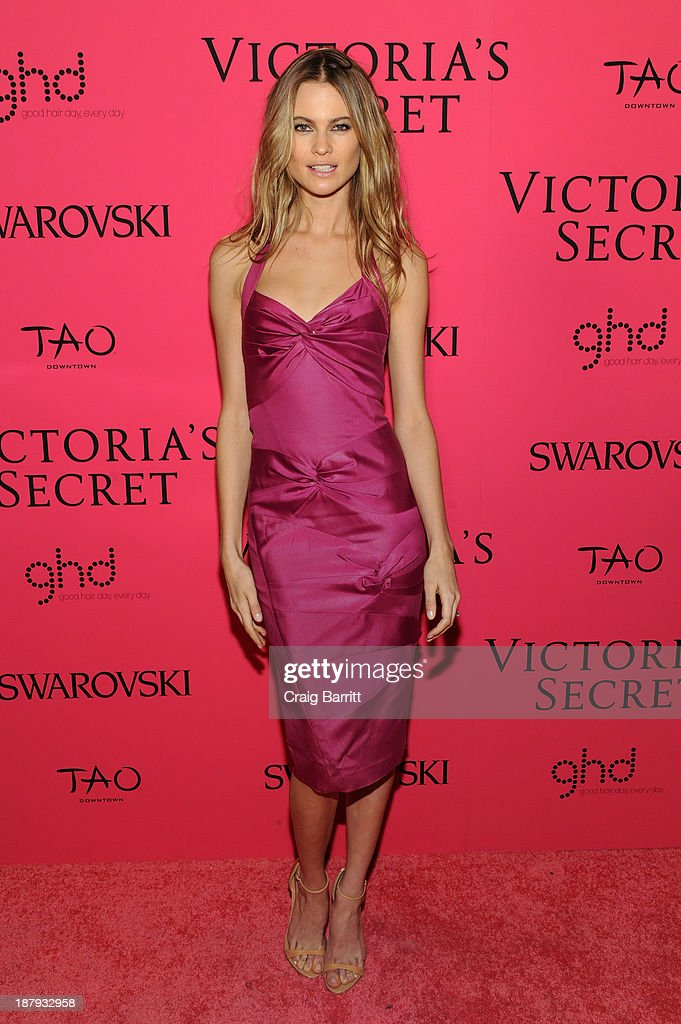 Model <a gi-track='captionPersonalityLinkClicked' href=/galleries/search?phrase=Behati+Prinsloo&family=editorial&specificpeople=4319064 ng-click='$event.stopPropagation()'>Behati Prinsloo</a> attends the 2013 Victoria's Secret Fashion after party at TAO Downtown on November 13, 2013 in New York City.