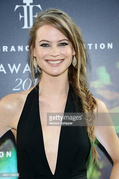 Model Behati Prinsloo attends the 2014 Fragrance Foundation Awards on June 16 2014 in New York City