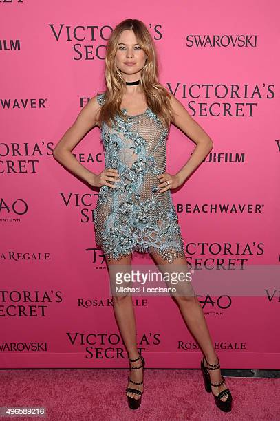 Model Behati Prinsloo attends the 2015 Victoria's Secret Fashion After Party at TAO Downtown on November 10 2015 in New York City