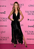 Model Behati Prinsloo attends the after party for the annual Victoria's Secret fashion show at Earls Court on December 2 2014 in London England