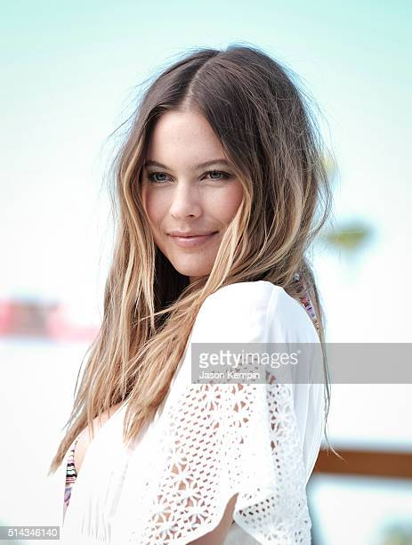 Model Behati Prinsloo attends the Victoria's Secret Swim Launch at SLS Hotel on March 8 2016 in Beverly Hills California