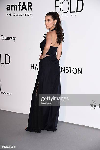 Model Bella Hadid arrives at amfAR's 23rd Cinema Against AIDS Gala at Hotel du CapEdenRoc on May 19 2016 in Cap d'Antibes France