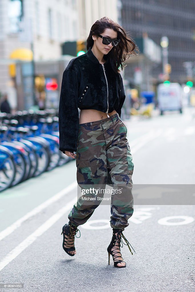 Model Bella Hadid attends the 2016 Victoria's Secret Fashion Show call backs on October 25, 2016 in New York City.