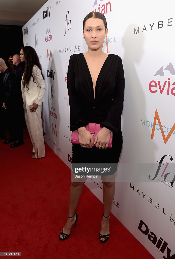 Model Bella Hadid attends The DAILY FRONT ROW 'Fashion Los Angeles Awards' Show at Sunset Tower on January 22 2015 in West Hollywood California