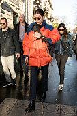 Bella Hadid Sighting in Paris  -  January 19