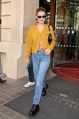 Celebrity Sightings In Paris - September 18, 2018