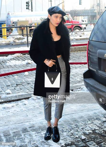 Model Bella Hadid is seen walking in Soho on March 17 2017 in New York City