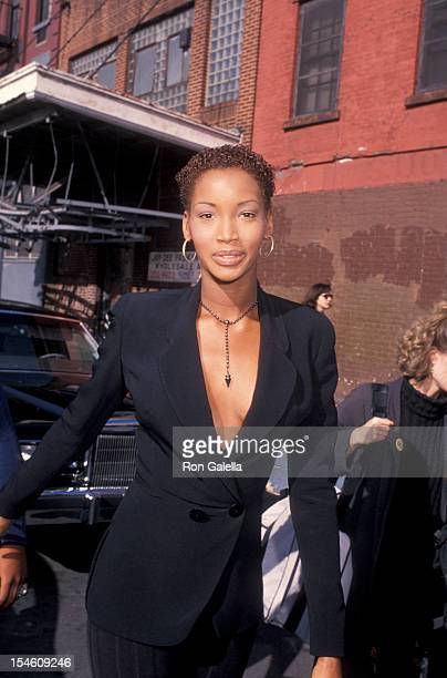 Model Beverly Peele attends Kids for Kids Benefit for Pediatric AIDS Foundation on April 18 1993 at Inustria Superstudio in New York City