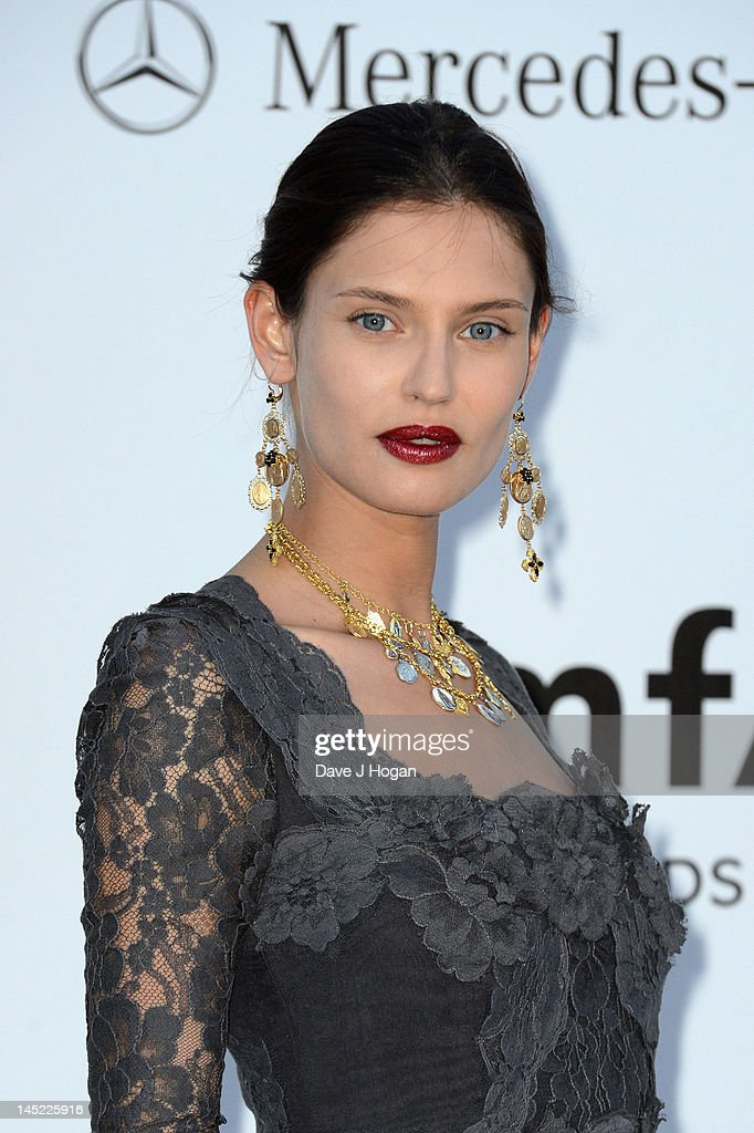 Model Bianca Balti arrives at the 2012 amfAR's Cinema Against AIDS during the 65th Annual Cannes Film Festival at Hotel Du Cap on May 24, 2012 in Cap D'Antibes, France.