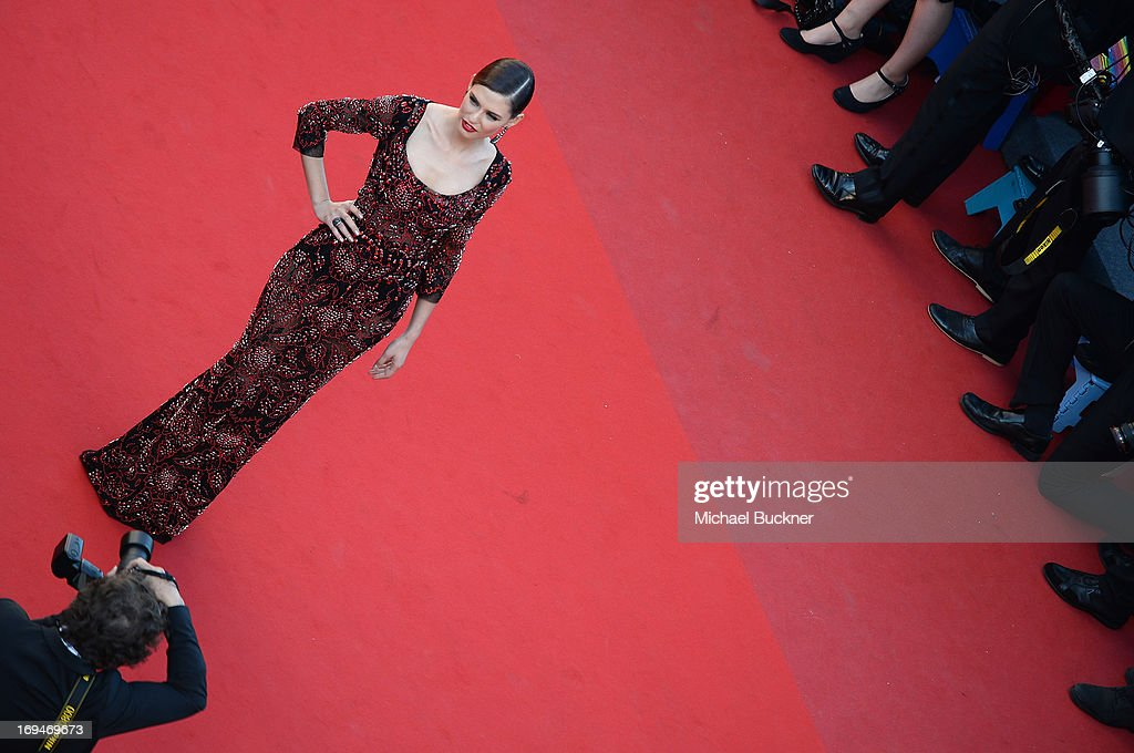Model Bianca Balti arrives at 'Venus In Fur' Premiere during the 66th Annual Cannes Film Festival at Grand Theatre Lumiere on May 25, 2013 in Cannes, France.